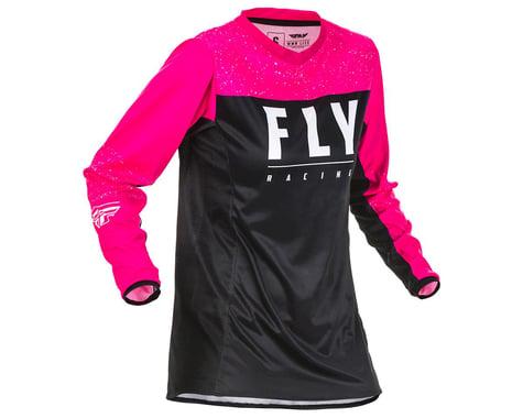 Fly Racing Women's Lite Jersey (Neon Pink/Black)
