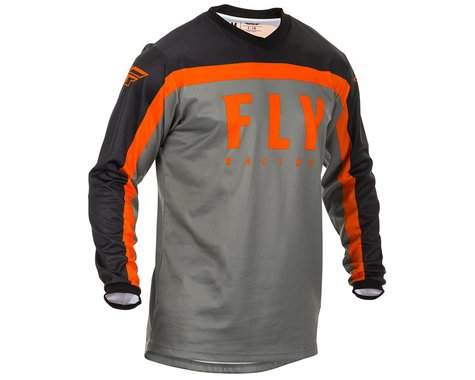 Fly Racing F-16 Jersey (Grey/Black/Orange)