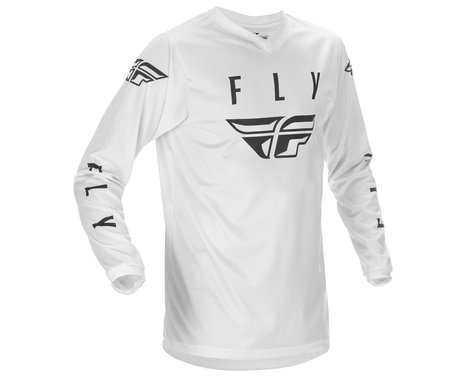 Fly Racing Universal Jersey (White/Black) (S)