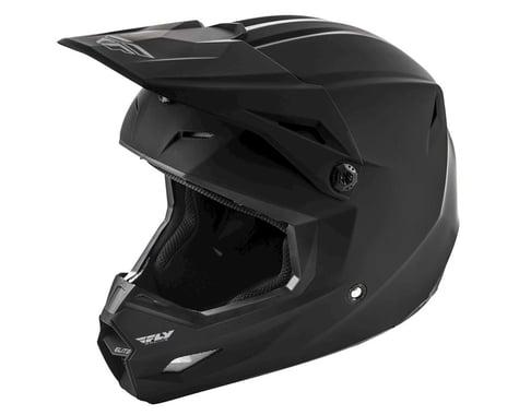 Fly Racing 2019 Elite Solid Youth Helmet (Matte Black)