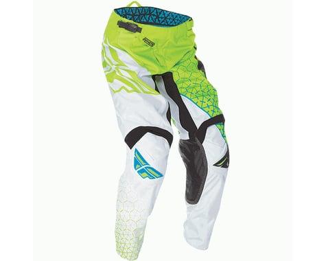 Fly Racing 2016 Kinetic Trifecta Pants (Lime/White)