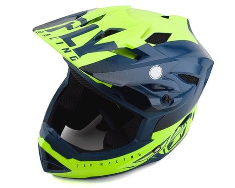 Fly Racing Default Full Face Mountain Bike Helmet (Teal/Hi-Vis Yellow)