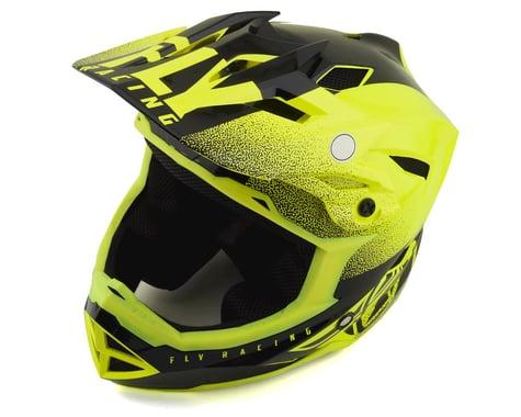 Fly Racing Default Full Face Mountain Bike Helmet (Hi-Vis Yellow/Black)