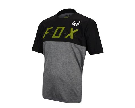 Fox Racing Indicator Camo Short Sleeve Jersey (Black/Grey)