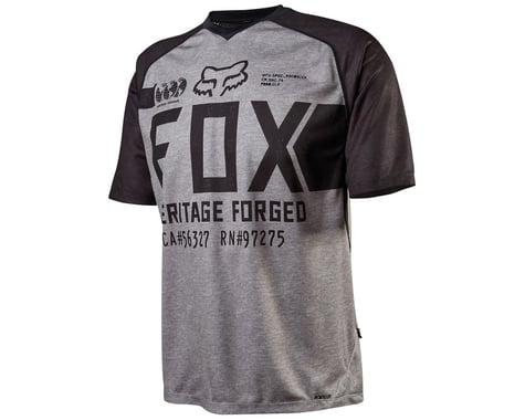 Fox Racing Indicator Short Sleeve Cycling Jersey (Heather Gray)