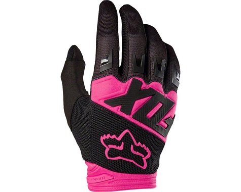 Fox Racing Dirtpaw Men's Full Finger Glove (Black/Pink)
