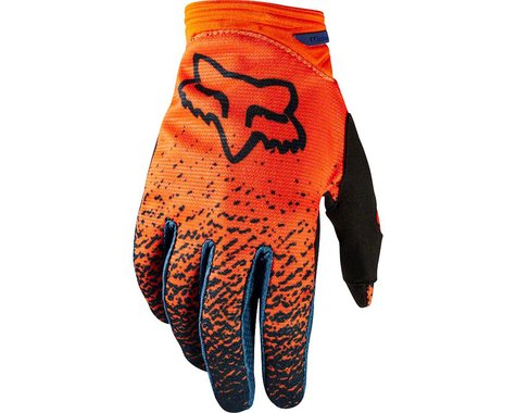 Fox Racing Dirtpaw Women's Full Finger Glove (Gray/Orange)