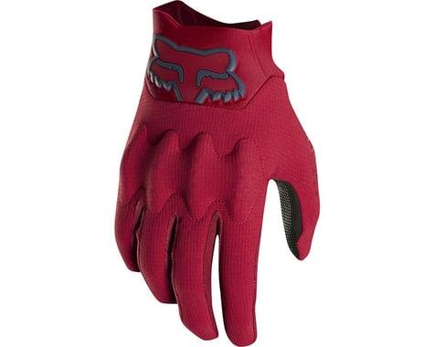 Fox Racing Attack Men's Full Finger Glove (Cardinal Red)