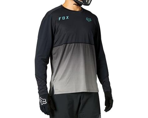 Fox Racing Flexair Long Sleeve Jersey (Black) (L)