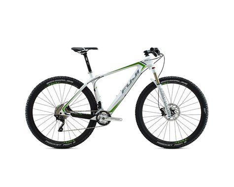 Fuji SLM 29 2.1 Disc 29er Mountain Bike - 2015 (Wh/Grn) (15)