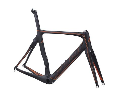 Fuji Bikes Fuji Transonic SL Frameset - 2016 (Carbon/Orange)