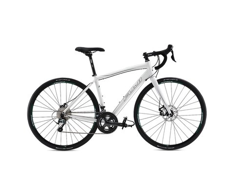 Fuji Bikes Fuji Finest 1.3 Disc Women's Road Bike - 2017 (White)