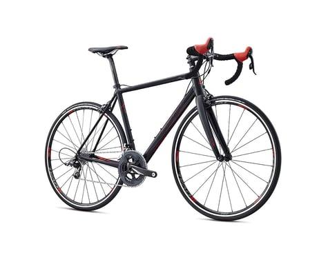 Fuji Bikes Fuji Roubaix Elite Road Bike - 2017 (Black/Red)