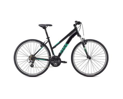 Fuji Bikes Fuji Traverse 1.9 Disc Women's Sport Hybrid Bike - 2017 (Black / Green)