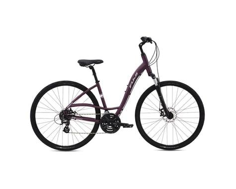 Fuji Crosstown 1.3 Disc LS Women's Comfort Bike - 2016 (Purple) (15)