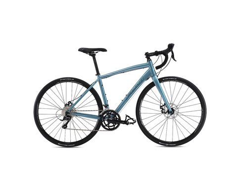 Fuji Finest 1.5 Disc Women's Road Bike - 2017 (Blue/Black) (56)