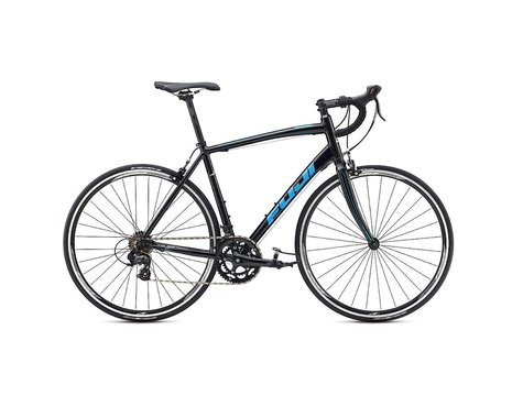Fuji Bikes Fuji Sportif 2.5 Road Bike - 2017 (Black / Cyan)