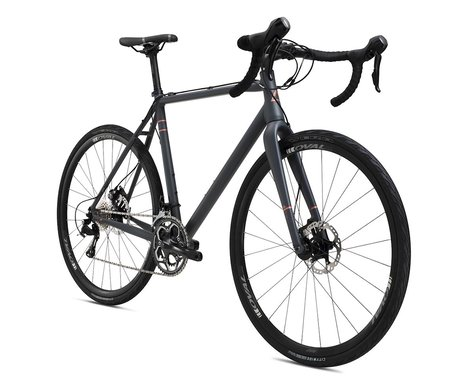 Fuji Bikes Fuji Tread 1.1 Disc Road Bike - 2016 (Black) (60)