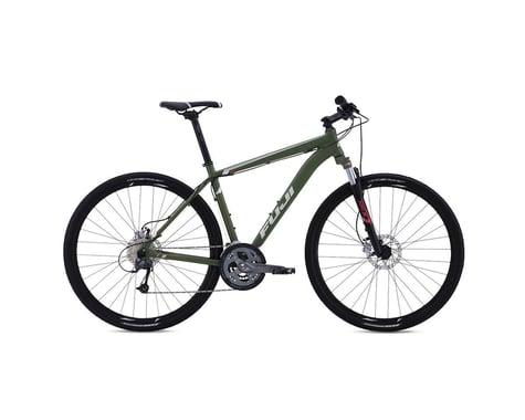 Fuji Traverse 1.3 Disc Sport Hybrid Bike - 2016 (Green) (17)