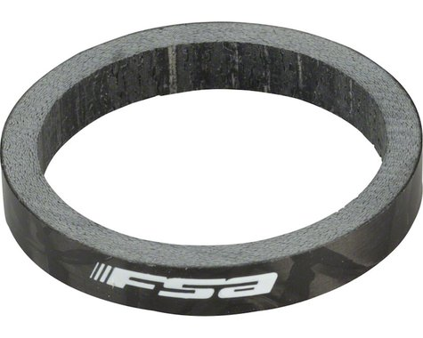 """FSA Carbon Headset Spacer (1-1/8"""") (Single) (5mm)"""