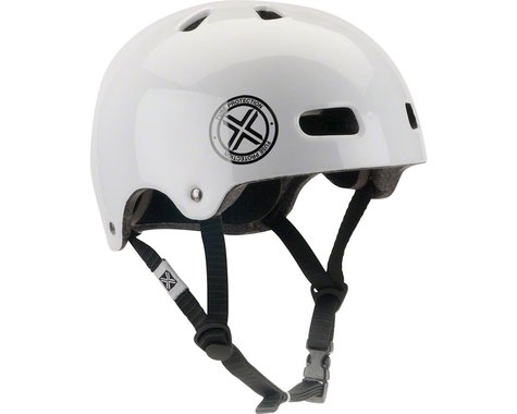 Fuse Protection Delta Scope In-Mold Hardshell Helmet - Glossy White, X-Small/Med