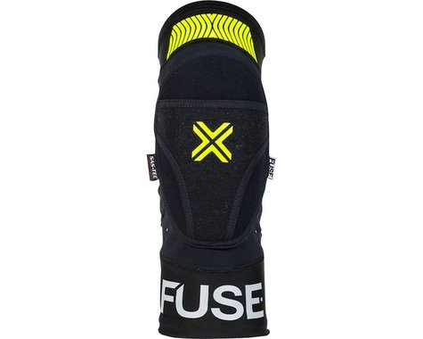 Fuse Protection Omega Knee Pad (Black/Neon Yellow) (S/M)