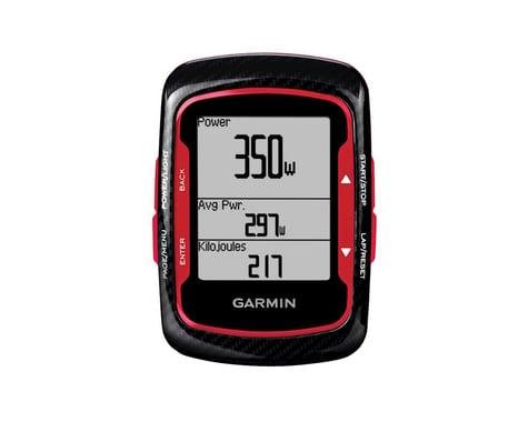 Garmin Edge 500: Black/Red