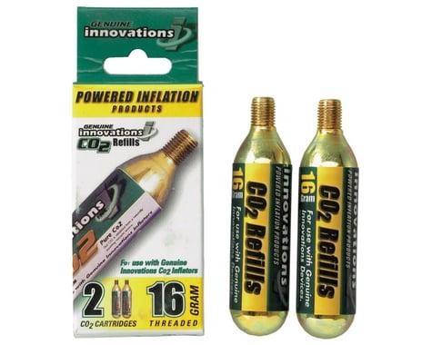 Genuine Innovations 16g Threaded Co2 Cartridge (2)