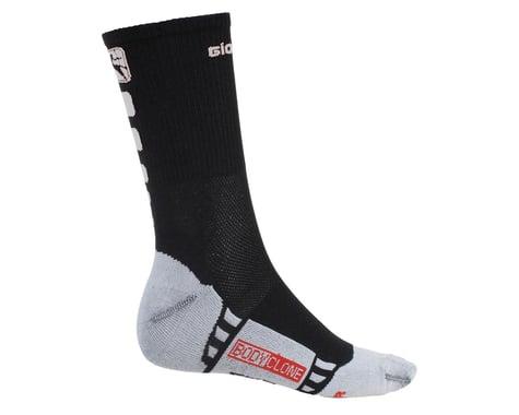 Giordana Men's FR-C Tall Cuff Socks (Black/White) (S)