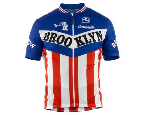Giordana Team Brooklyn Vero Pro Fit Short Sleeve Jersey (Traditional) (L)