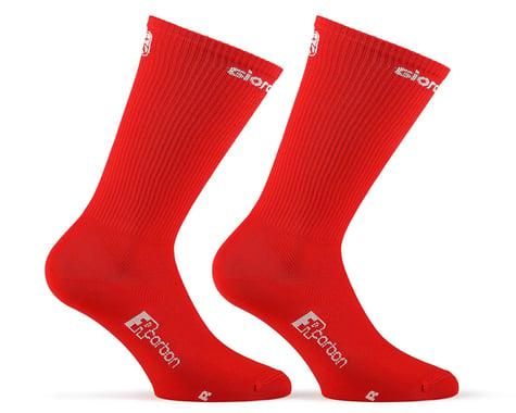 Giordana FR-C Tall Solid Socks (Red) (S)