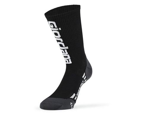 Giordana FR-C Tall Giordana Logo Sock (Black/White) (S)