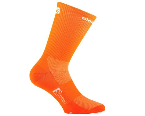 Giordana FR-C Tall Sock (Fluo Orange) (L)
