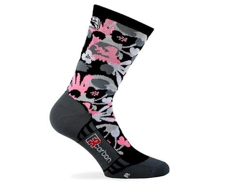 Giordana Women's FR-C Tall Cuff Sock (Pink/Black) (M)