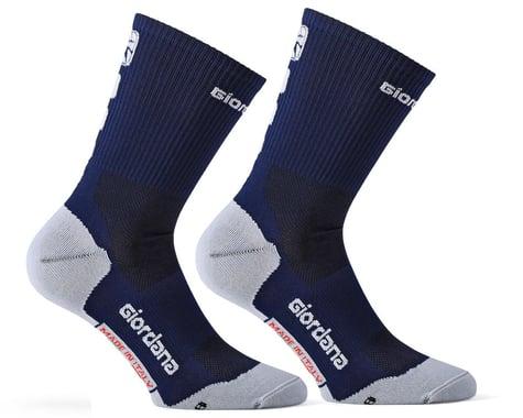 Giordana FR-C Sock Tall Cuff (Midnight Blue) (L)