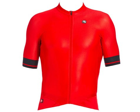 Giordana Men's FR-C Pro Short Sleeve Jersey (Cherry Red/Black) (XL)