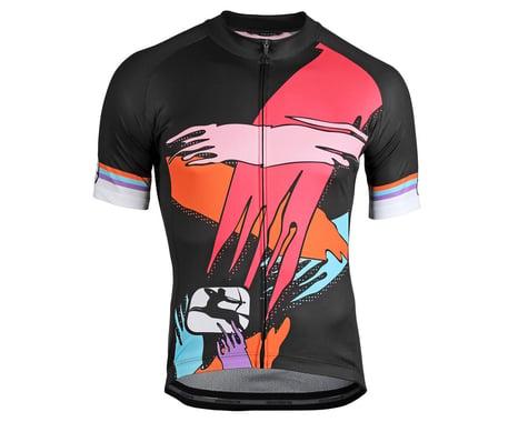 Giordana Saggitario Jersey (Black/Pink/Orange) (XS)