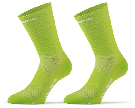 Giordana FR-C Tall Solid Socks (Acid Green) (S)