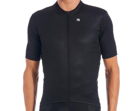 Giordana Fusion Short Sleeve Jersey (Black) (S)