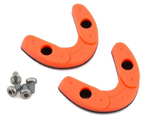 Giro Road Heel Pad Set (Flourescent Orange) (39-40.5)