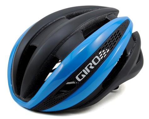 Giro Synthe Road Helmet (Matte Black/Blue)