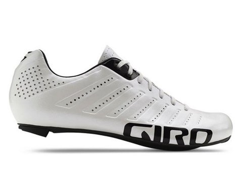 Giro Empire SLX Lace-Up Bike Shoes (White/Black)