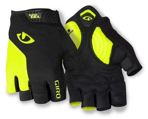 Giro Strade Dure Supergel Short Finger Gloves (Yellow/Black) (S)