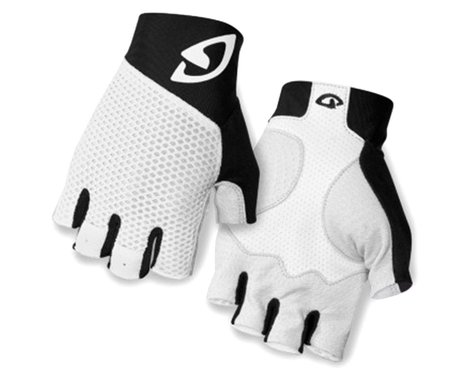 Giro Zero II Short Finger Bike Gloves (White/Black)