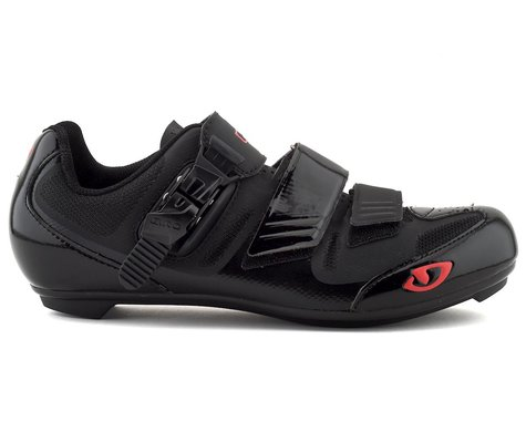 Giro Apeckx II Road Shoes (Black/Bright Red)