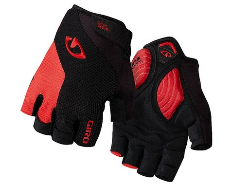 Giro Strade Dure Supergel Cycling Gloves (Black/Bright Red) (2016) (S)