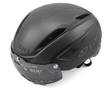 Giro Air Attack Shield Aero Road/Track Helmet (Matte Black/Gloss Black)