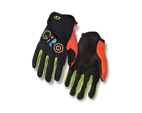 Giro DND Jr. II Gloves (Black Multi) (Youth L)
