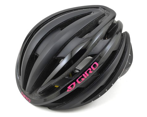 Giro Women's Ember MIPS Road Helmet (Matte Black/Bright Pink)