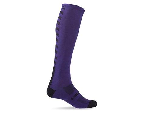 """Giro Hightower Merino Wool 18"""" Socks (Ultraviolet)"""